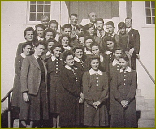 Elim Bible School 1944-45