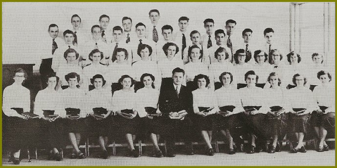 Elim Bible School Choir 1951-52