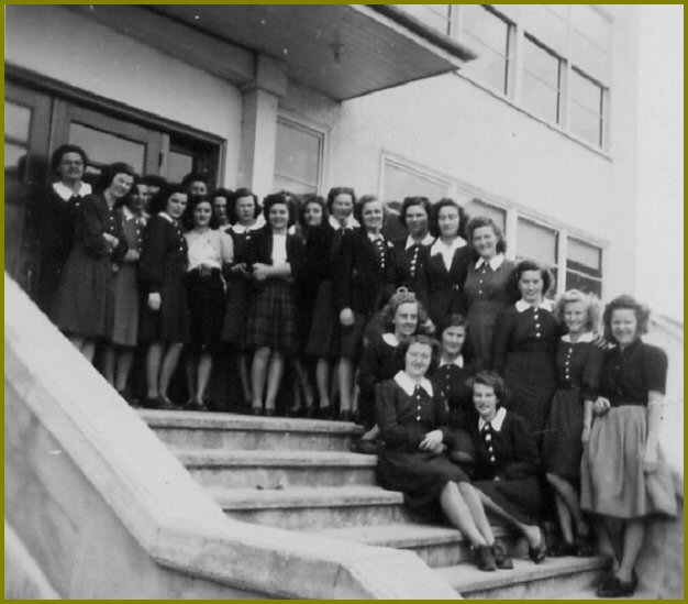Female Students Yarrow Elim Bible School 1947-48