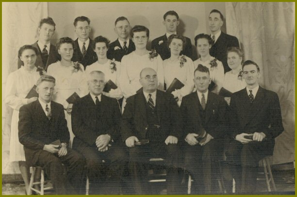 Graduating Class Yarrow Elim Bible School 1946-47
