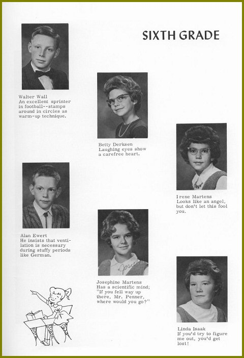 Sharon Mennonite Collegiate Grade Six Class of 1964