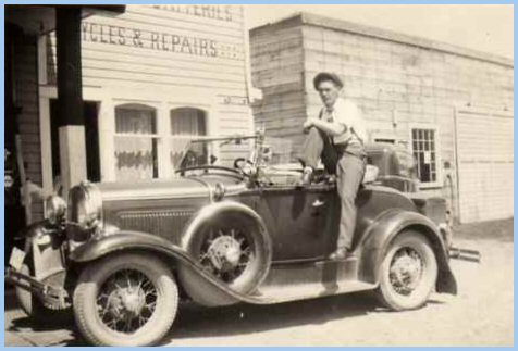 Johnny Wittenberg at Yarrow Electric -  1936