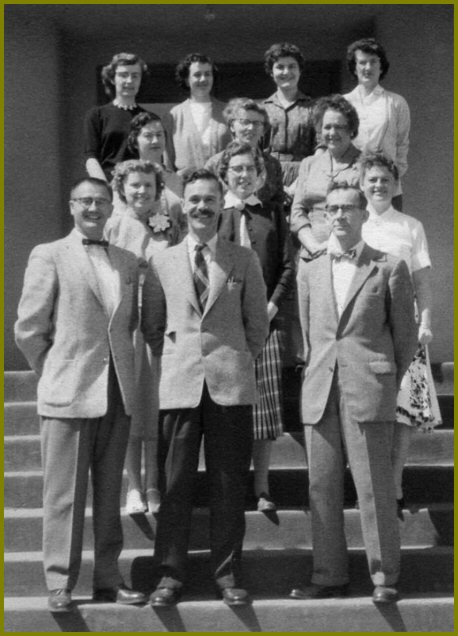 Yarrow School Teachers, 1958-59