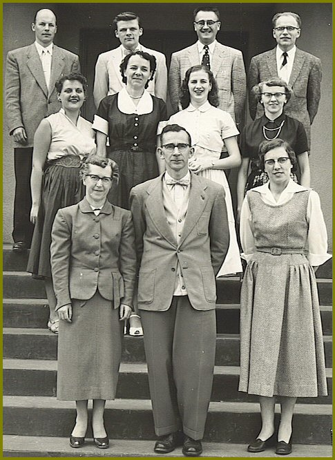 Yarrow School Teachers, 1955-56