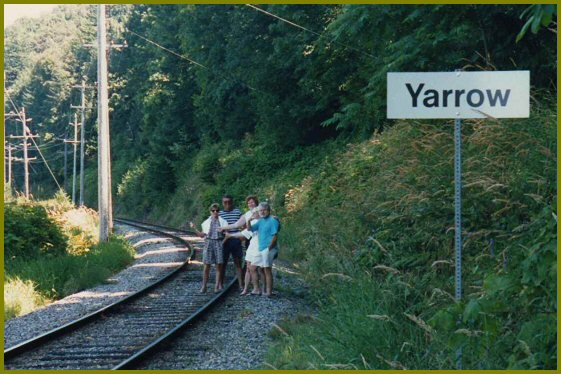 Yarrow Station, Yarrow B.C.
